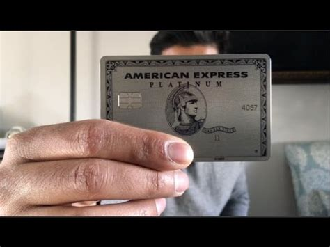 the american erfahrungen metal amex platinum card
