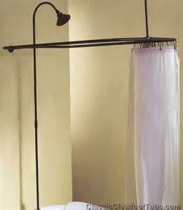 Premier Faucets Parts Clawfoot Tub Shower Enclosure Combo No Faucet Classic