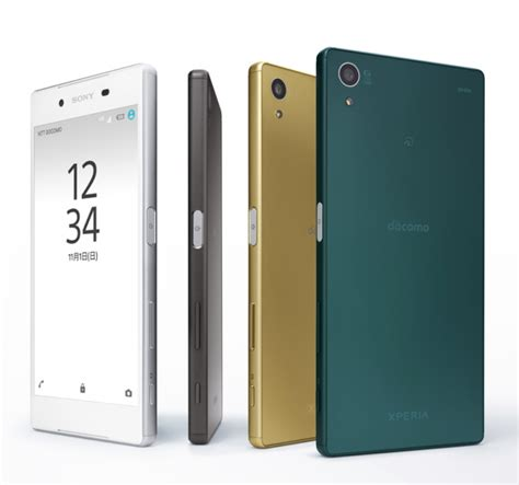 Sony Xperia Z5 Au Japan ntt docomo announces the sony xperia z5 series xperia