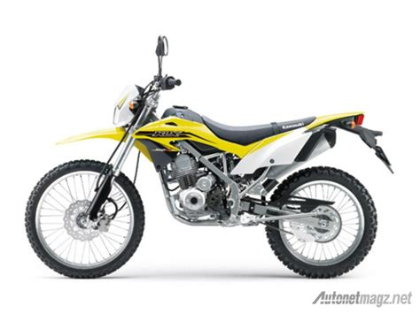 Shock Klx 150 kawasaki klx 150 bf side yellow
