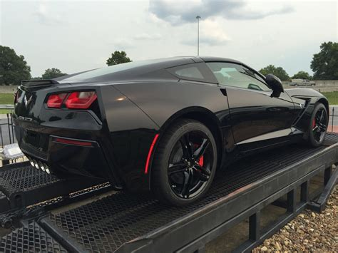 Black Stingray Corvette 2016 by Look At New 2016 Base Wheels In Black On A C7