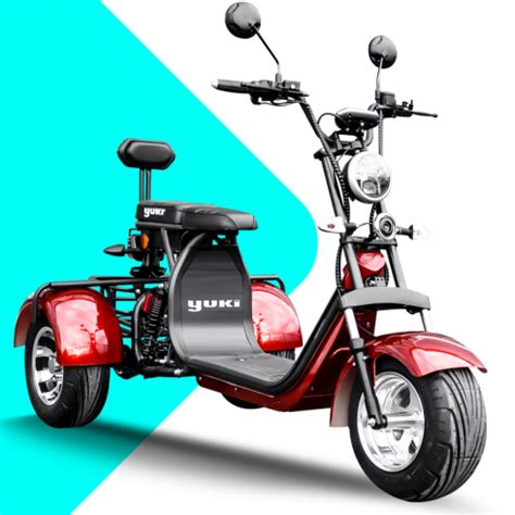 treeporter yuki motor elektrikli scooter motosiklet