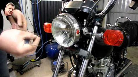 Motorrad Scheinwerfer Ausbauen by Scheinwerfer Umr 252 Sten Umbau Auf H4 Kawasaki Ltd 440