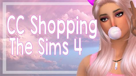 sims 4 cc shopping the sims 4 cc shopping holiday edition youtube
