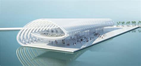 Architecture architecture studio pier exhibition centre
