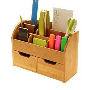 Desk stationery organiser box or wall mounted desk tidy made of