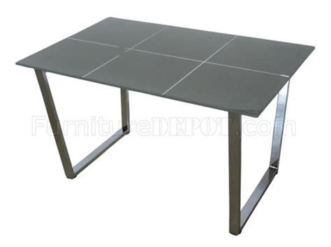 glass top metal legs modern rectangular dining table
