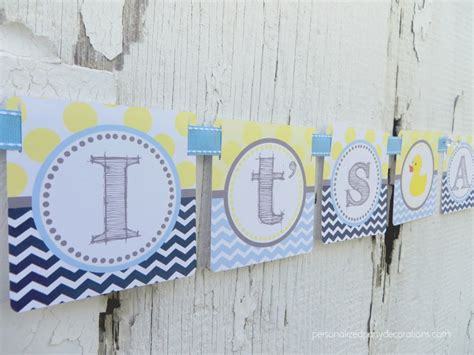 Duck Baby Shower Banner by It S A Boy Duck Baby Shower Banner