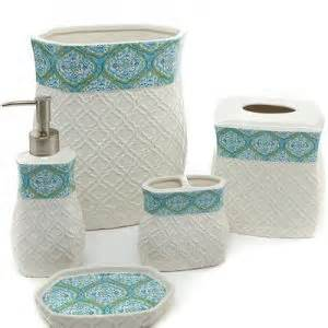 modern turquoise bath accessories homes network