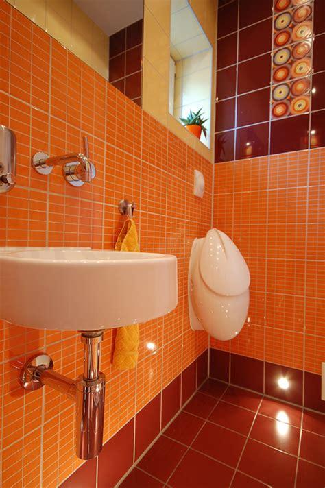dekorierte badezimmer g 228 ste wc retro