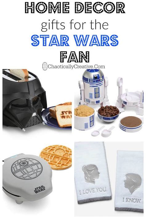 gifts for wars fans top home decor gifts for wars fans chaotically creative