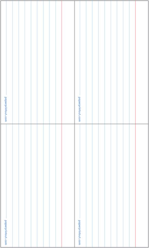 3x5 index card template with lines printable index cards template vastuuonminun