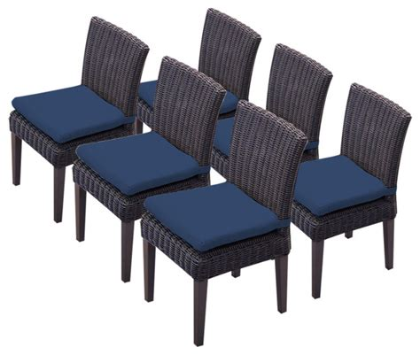venice armless dining chairs tropical outdoor dining