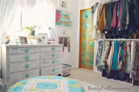 Closet Organizing Ideas On A Budget by Before And After Spare Room Turned Closet On A Budget