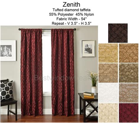 zenith curtains zenith curtain panel bestwindowtreatments com