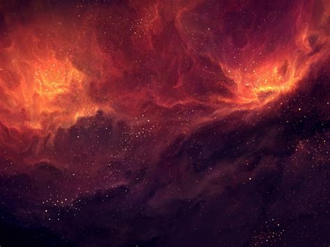 nebula wallpaper for mac 1024x768 red nebula stars desktop pc and mac wallpaper