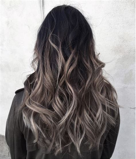 best 20 gray hair highlights ideas on pinterest pictures black to grey ombre black hairstle picture