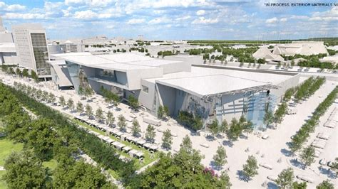 construction begins  maps  convention center
