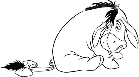 cute eeyore coloring pages coloring pages eeyore az coloring pages