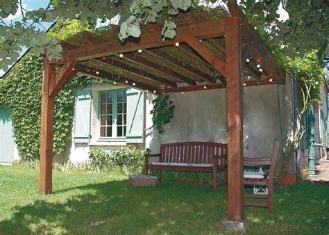pergola en bois pour terrasse 4651 pose pergola bois extension maison 224 orl 233 ans 45