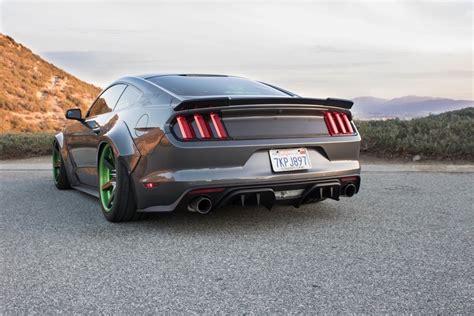 Valance Panel Rtr Rear Diffuser Sets Off 2015 Mustang