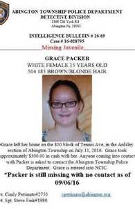 The missing poster for grace packer who was found dismembered source