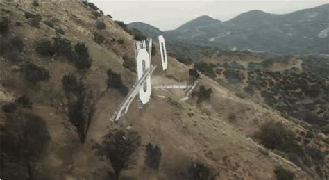 hollywood sign gif san andreas action destruction human emotion star2
