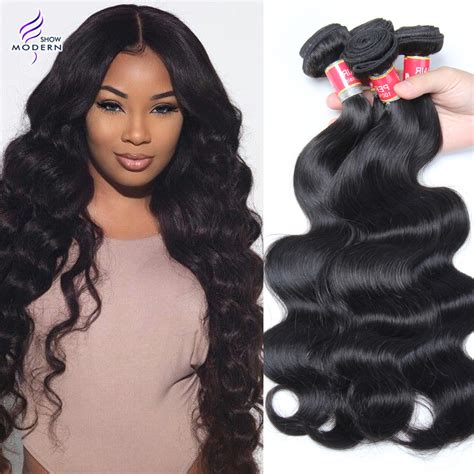 show pic of body wave wwave hair style aliexpress com buy 6a peruvian virgin hair body wave 4