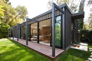How Much To Build A Sunroom Extension Serene Scandavian Backyard Studios Backyard Studio