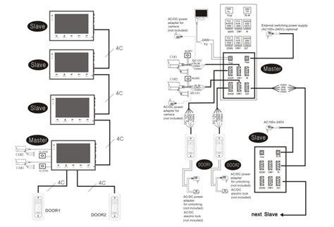 100 wiring diagram for intercom aiphone jo 1