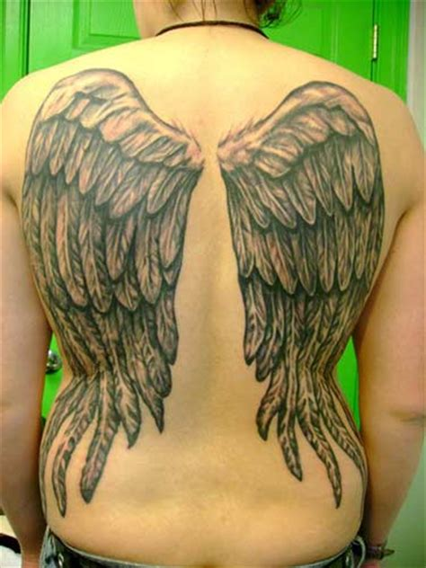 fountain of youth tattoo wings by britten tattoonow