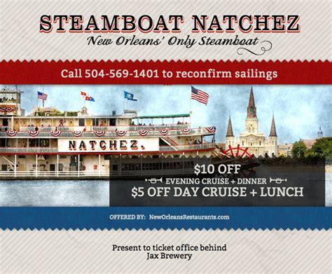 steamboat natchez coupon coupon steamboat natchez
