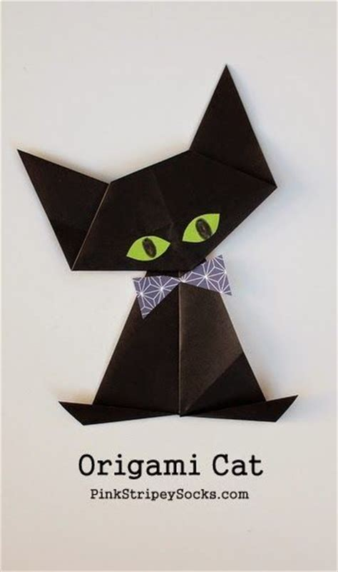 Origami Cat - origami black cat charts songs and tutorials