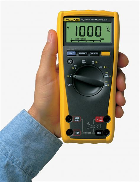 Multimeter Fluke 177 the fluke 177 true rms digital multimeter digital meters
