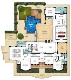 large home plans floor plan friday federation style splendour