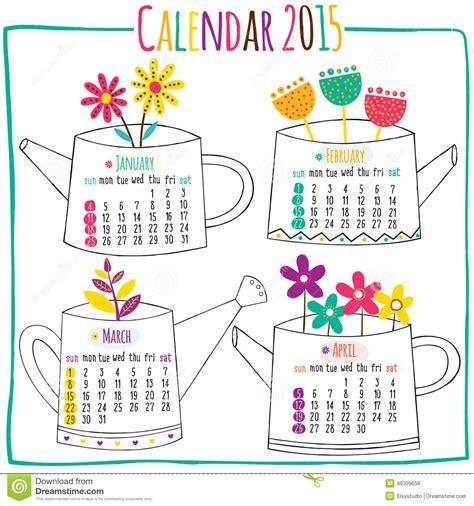 Calendar 2015 February March April Calendar 2015 January February March April Stock