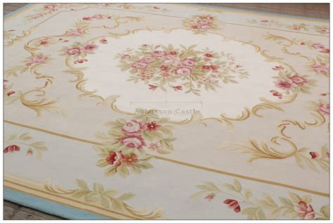 Pink Area Rugs 8x10 8x10 Light Blue Aubusson Rug Shabby Pink Chic Wool Ivory Carpet New