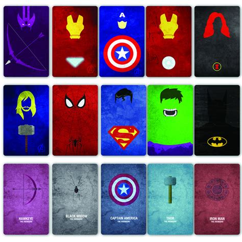 marvel heroes printable pictures 24 quot x24 quot inch hd home decor comic marvel wall superhero