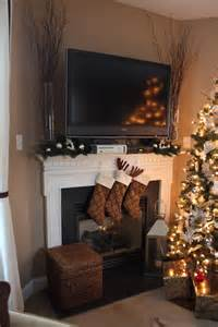 how to decorate around a fireplace dwellings by devore decorating around electronics