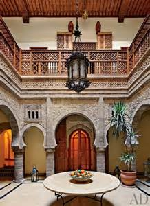morocco design dustjacket attic interiors moroccan courtyard house