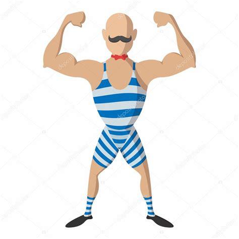 imagenes fuertes para un hombre dibujo animado del hombre fuerte archivo im 225 genes