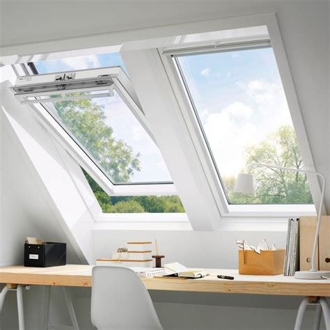 Holz Dachfenster Lackieren by Velux Schwingfenster Ggl 2060 Thermo Plus Holz Wei 223
