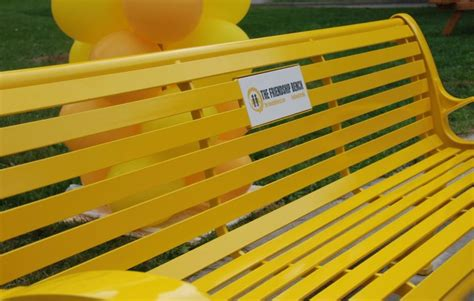 friendship benches author danny brown the friendship bench