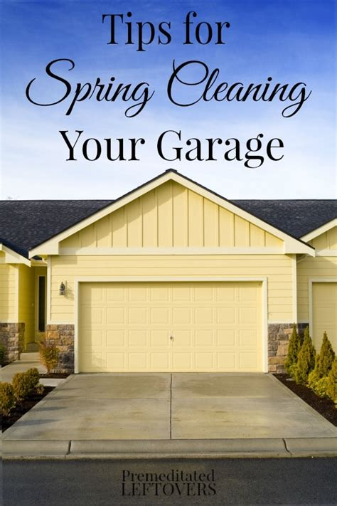 7 Tips On Cleaning A Garage by Cleaning Your Garage