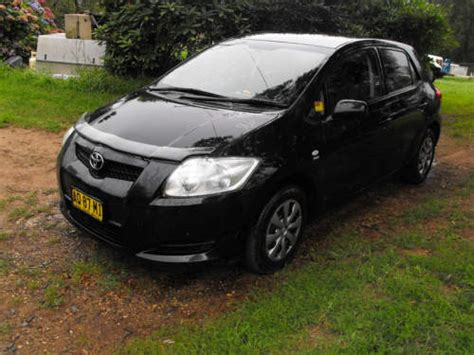 2007 Used Toyota Corolla Hatchback Car Sales Robertson Nsw