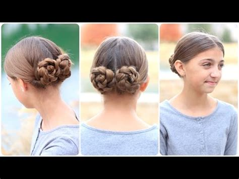 prim's mockingjay braided bun updo | hunger games