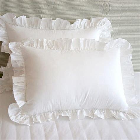 aliexpress buy 2pcs fashion ruffle pillow