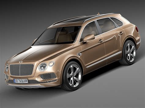 bentley bentayga render bentley bentayga 2016 3d model max obj 3ds fbx c4d lwo lw