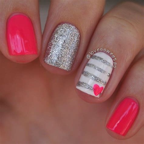 simple valentines day nails 25 best ideas about nails on
