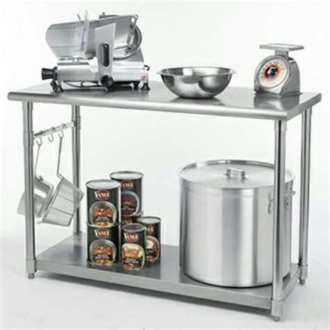 mesas de acero inoxidable para cocina mesa de trabajo acero inoxidable cocina gastronomia